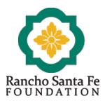 Rancho Santa Fe Foundation logo