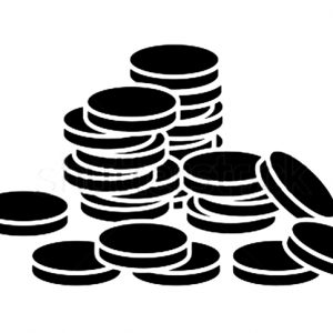 Illustration of stacks of coins.