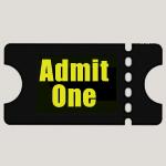 event ticket icon